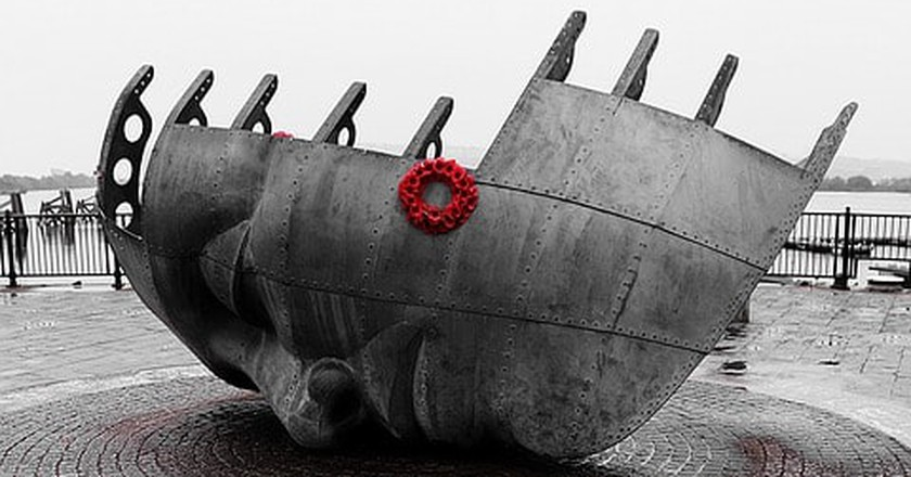 Merchant Seafarers' Memorial © tom1068/Pixabay