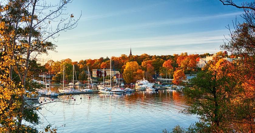 An autumn view on Waldemarsudde bay in Stockholm, Sweden | © Viacheslav Savitskiy/Shutterstock