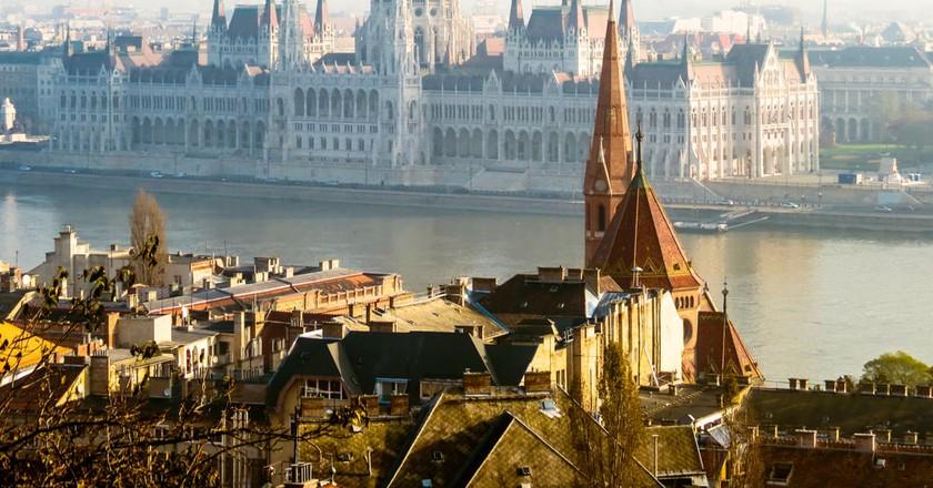 Autumn fog over Budapest, Hungary | © Arndale/Shutterstock