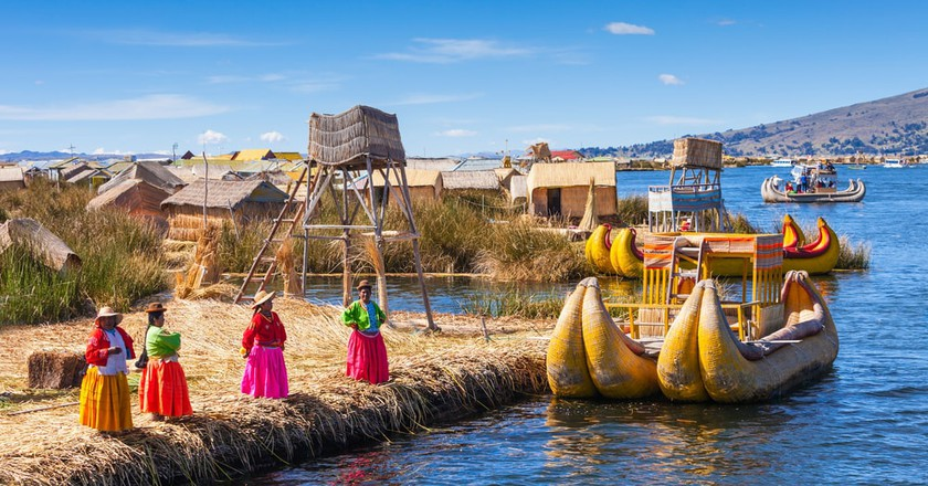 Uros floating islands | ©  saiko3p / Shuterstock
