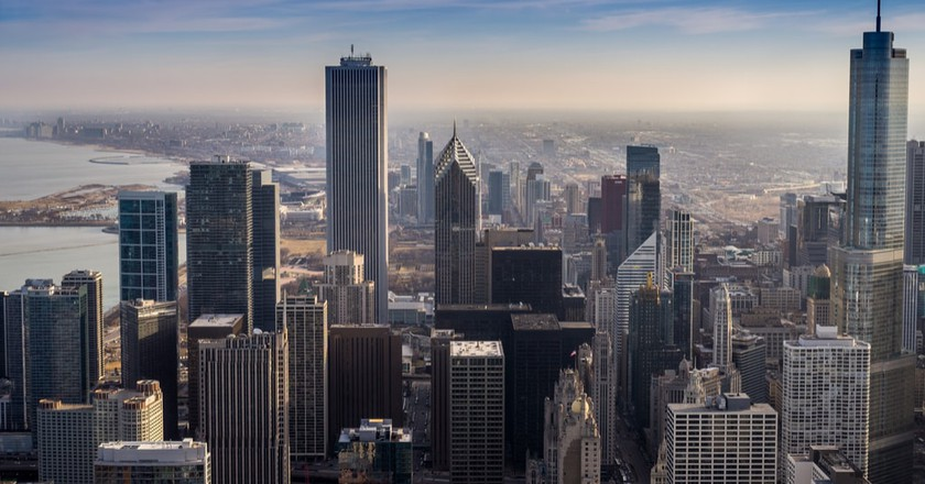 Stunning Chicago Skyline   © CraftStudio Production/Shutterstock