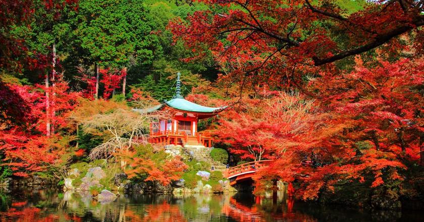 Daigoji Temple, Kyoto, Japan
