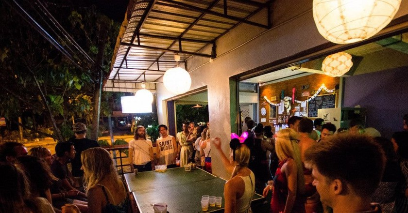 Slumber Party guests enjoying another night in paradise | ©Slumber Party