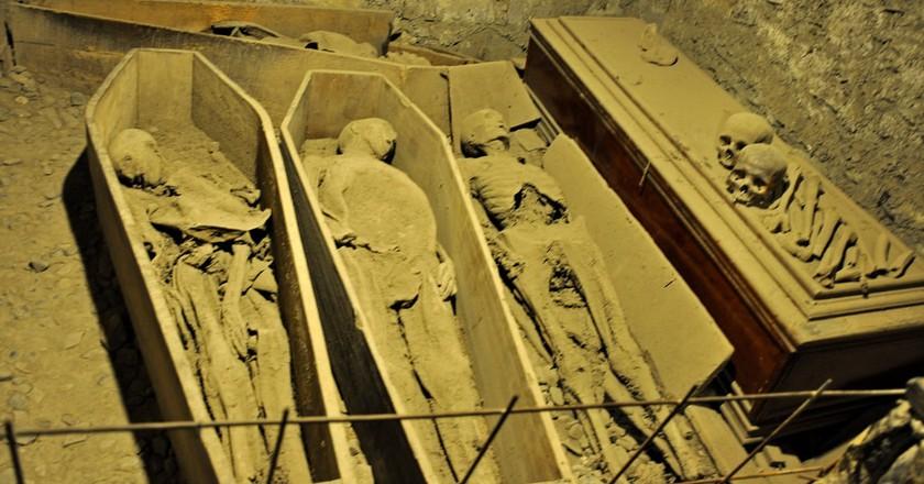 Mummies in St Michan's Church | © Jennifer Boyer / Flickr