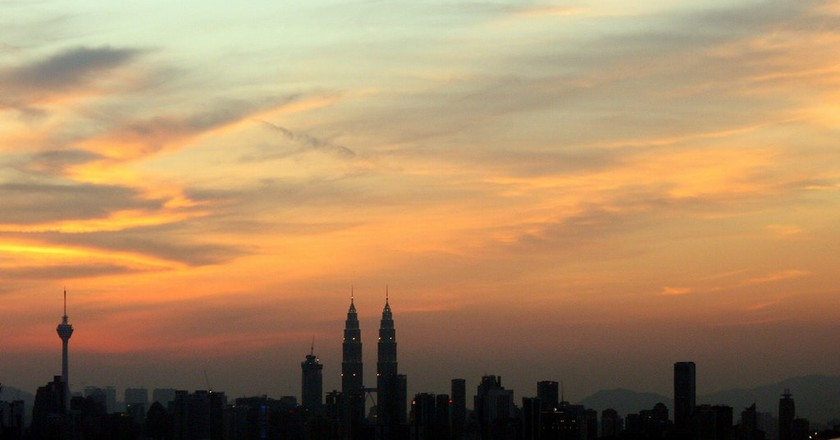 Sunset in Kuala Lumpur © Idlan Zakaria/Flickr