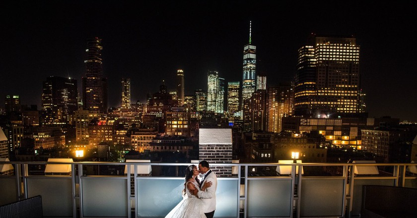Romantic setting | © Courtesy of Tribeca Rooftop/Foxlight Studios