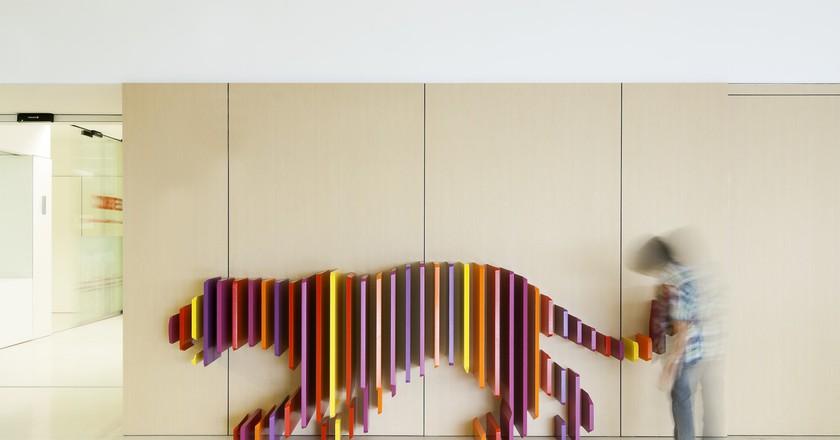 Tiger, Hospital Sant Joan de Déu, Barcelona   © Rubio Arauna Studio, Rai Pinto Studio/Victòria Gil