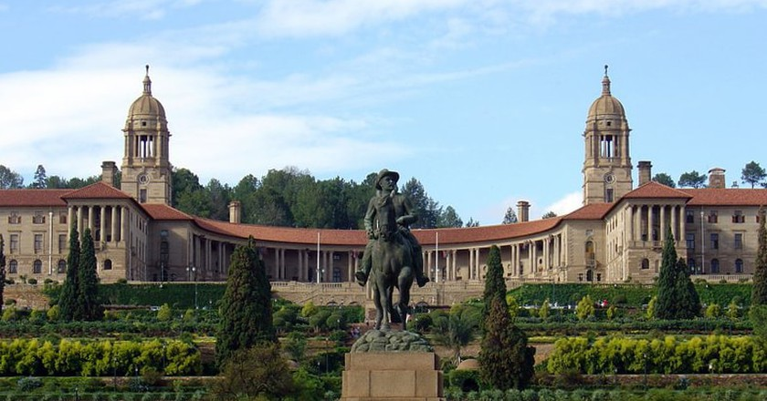 The Union Buildings, one of Pretoria's most stunning architectural landmarks | © Davinci77/WikiCommons