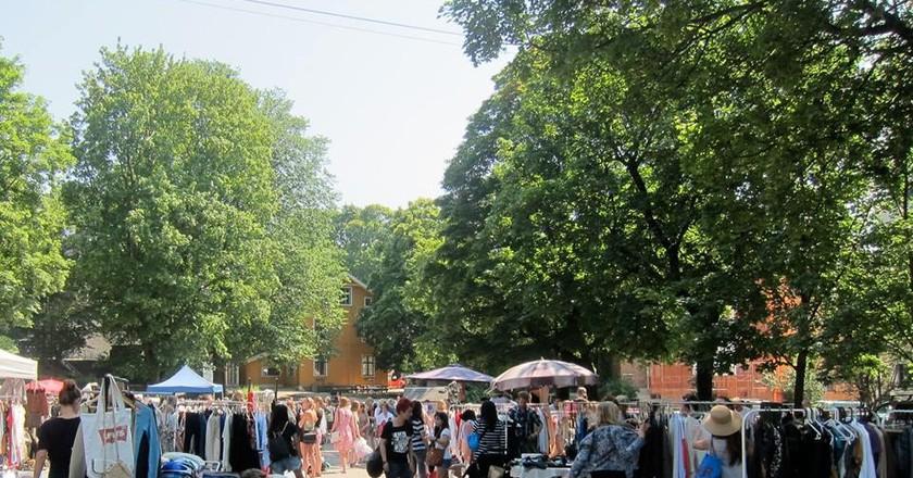 Vestkanttorvet flea market | Courtesy of Vestkanttorvet