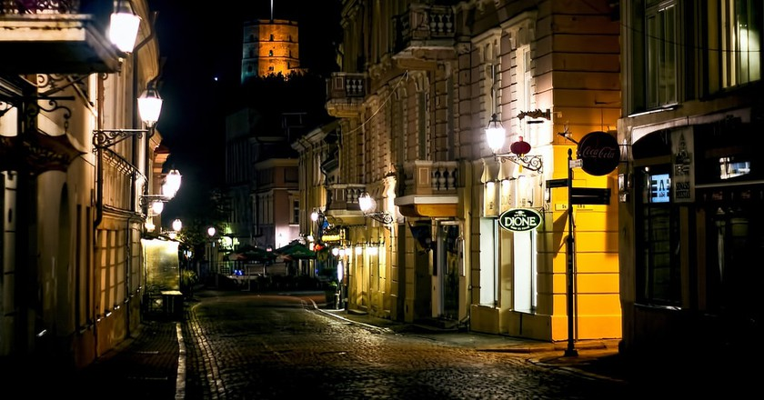 Vilnius at night | © Vicente Villamón /Flickr