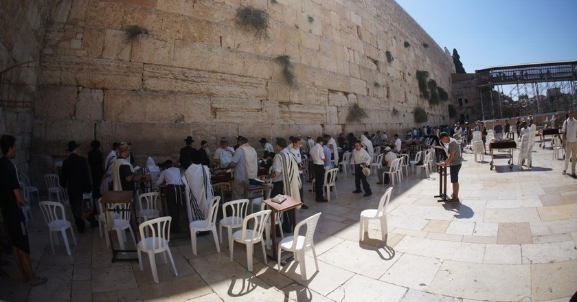 Wailing Wall | © Chris Hoare / Flickr