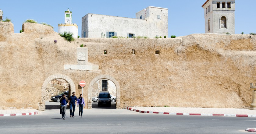 Towers peeking above El Jadida's walls | © xiquinhosilva / Flickr