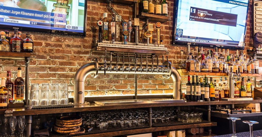 Westy Bar Tap Tower | Courtesy of The Westy