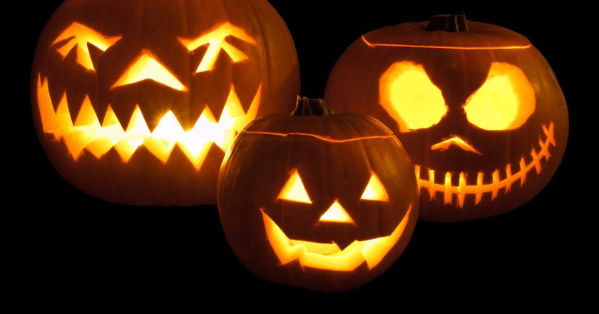Jack-o'-lanterns | © William Warby/Flickr