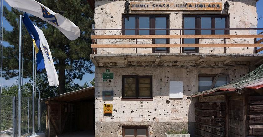Sarajevo Tunnel Museum | © Fanny Schertzer