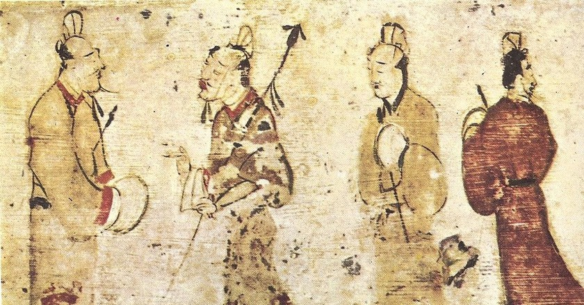 Han Dynasty Men | © Museum of Fine Arts, Boston / WikiCommons