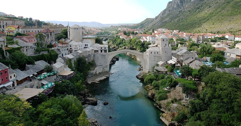 The Stari Most in Mostar (c) Wikimedia Commons