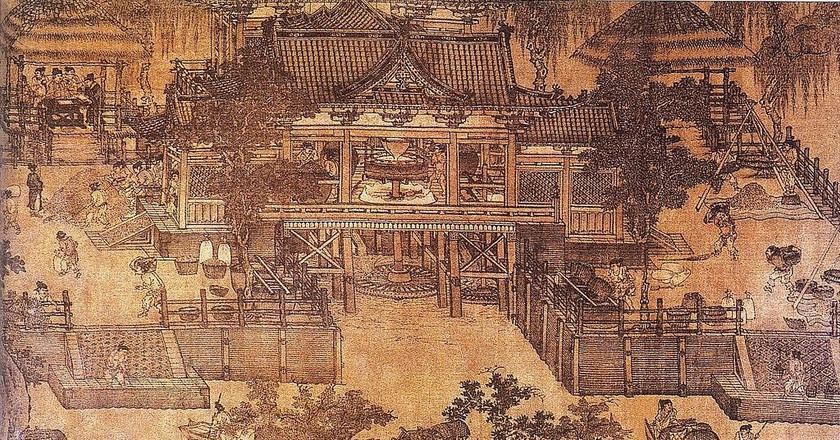 Song Dynasty Hydraulic Mill | © PericlesofAthens / WikiCommons