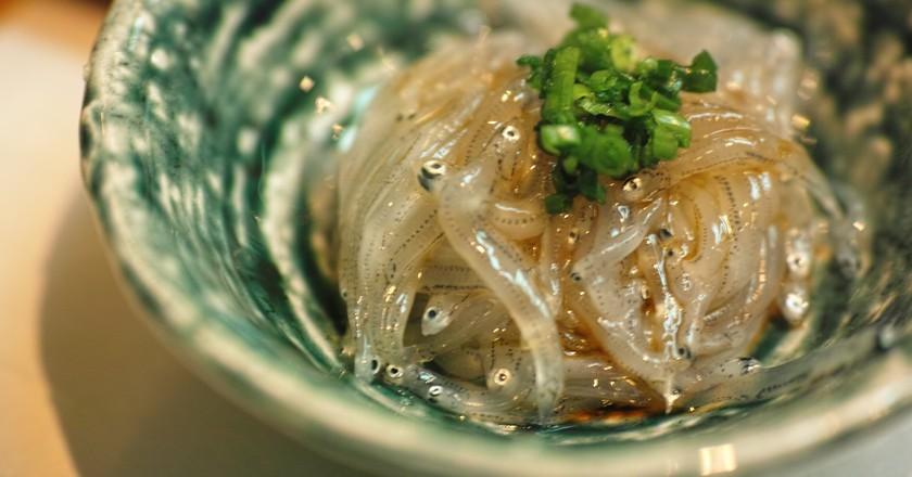 Nama-shirasu, the tiny fry of sardines | © Jun Seita / Flickr