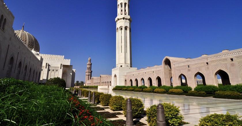 The Sultan Qaboos Grand Mosque   © Dan/Flickr