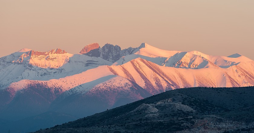 Mount Olympus, on the border of Macedonia and Thessaly    ©Nikos Koutoulas/Flickr