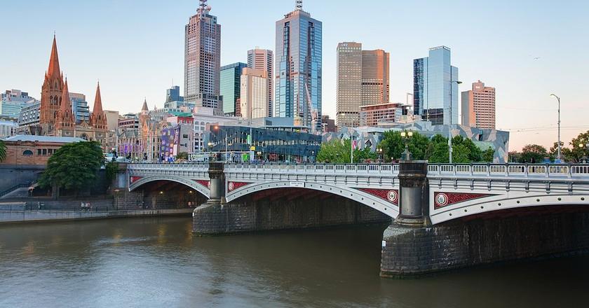 :Melbourne Skyline | © Tim Serong/WikiCommons