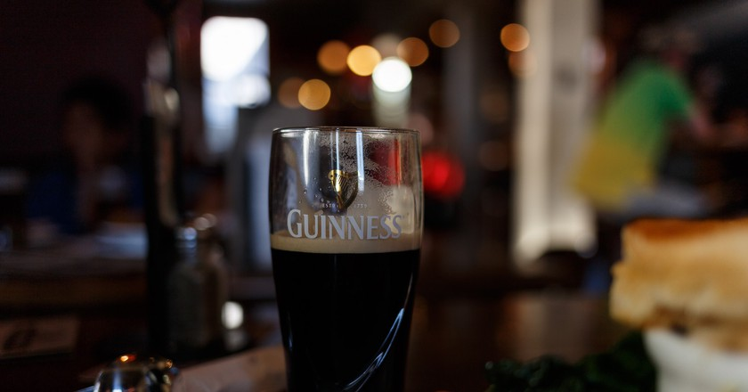 Glass of Guiness at the Pig & Whistle, Rotorua | © Florian Bugiel/Flickr