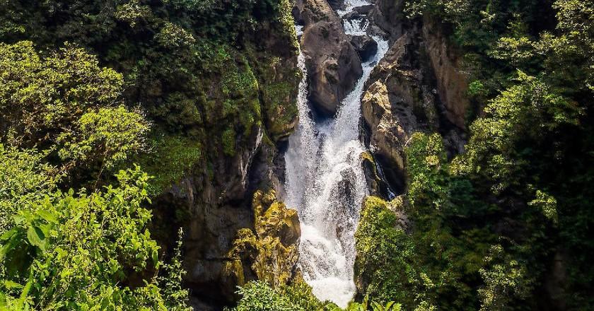 Paílón del Diablo Baños, Ecuador | © Simon Matzinger/Flickr