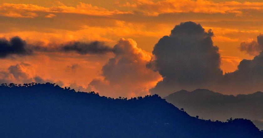 Sunset view from Gangtok, Sikkim |© Abhijit Kar Gupta / Flickr