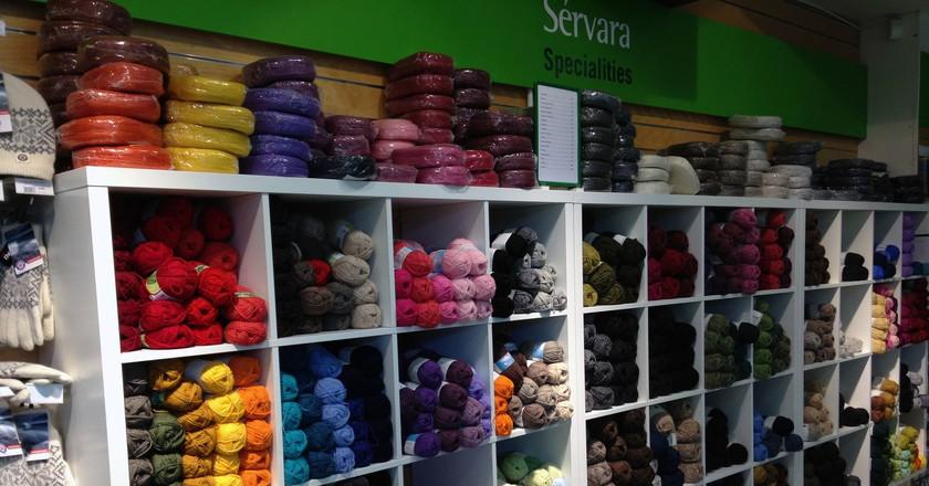 Supermarket yarn |© Jennifer Boyer / Flickr