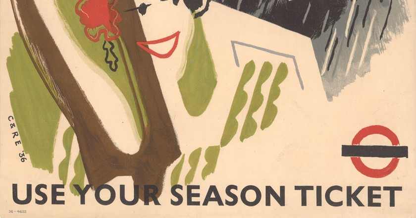 Come out to play, by Clifford Ellis and Rosemary Ellis, 1936 | Courtesy of London Transport Museum