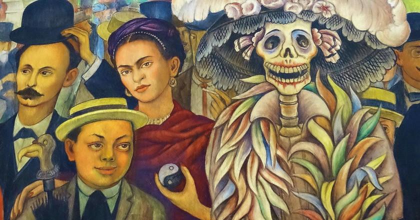 Detail of Diego Rivera Mural | © Adam Jones/Flickr