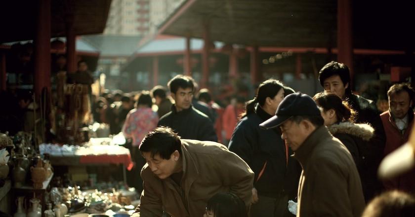 Pan Jia Yuan Bejing Antique Flea Market © Lyle Vincent