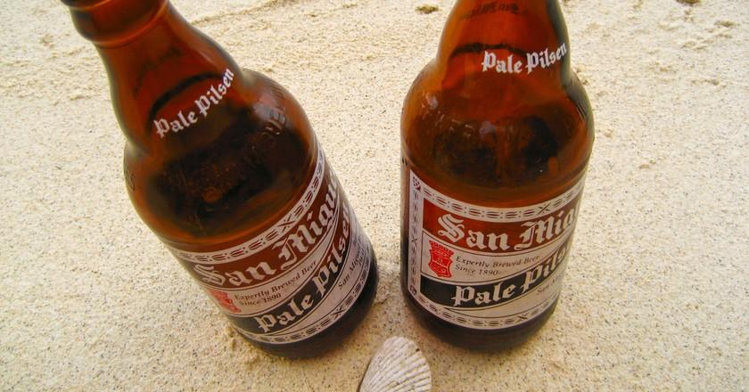 Filipino San Miguel Beer