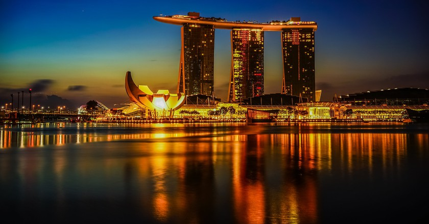 Marina Bay, Singapore | © aotaro / Flickr