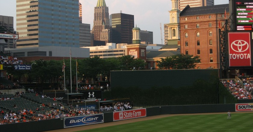 View of Baltimore, Maryland from Oriole Park | © Ken Lund/Flickr