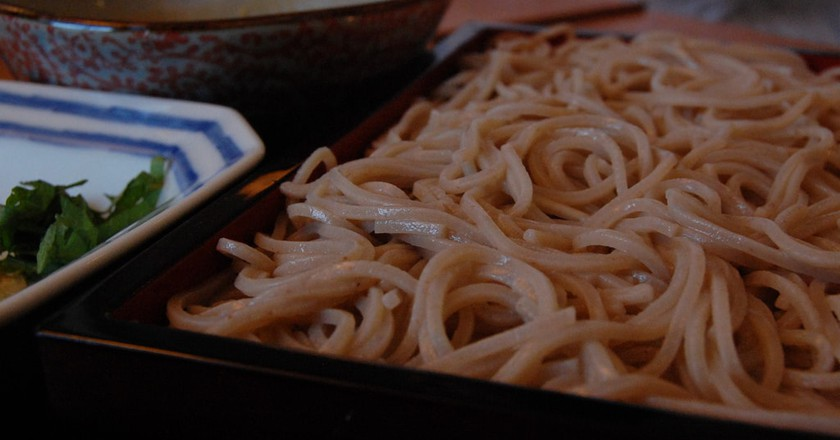 Soba noodles, one of the many gluten-free foods in Japanese cuisine | © stu_spivack / Flickr