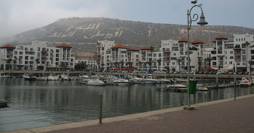 Agadir hill and harbour   ©  Grigory Gusev / Flickr
