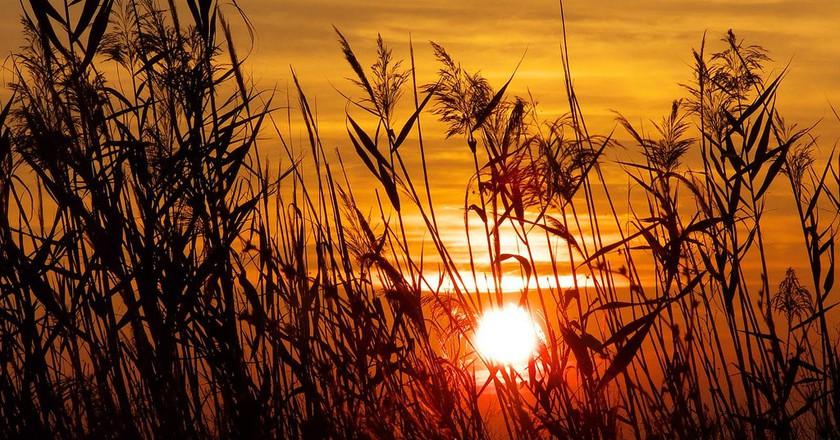Sunset at Etang de Berre | © Alpha de Centaure/Flickr