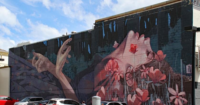 Bezt Mural, Dunedin   © Tony Hisgett/Flickr