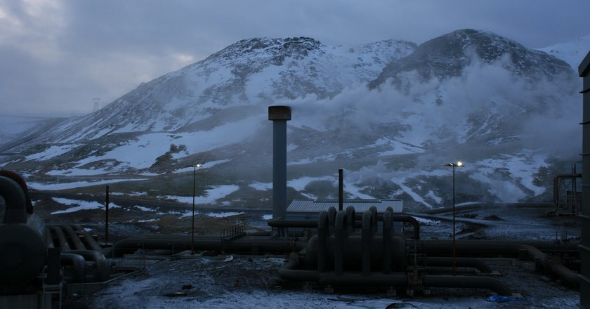 Geothermal Powerstation | © DeepBluC/Flickr