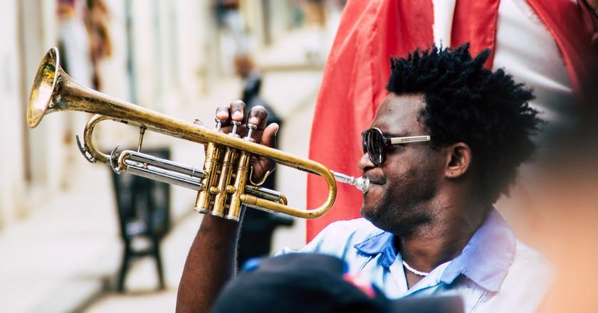 Trumpet player Cuba © Fabien Le Jeune / Flickr
