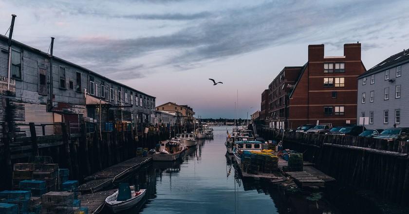 Portland Maine's Docks | © Allgash Brewing/Flickr