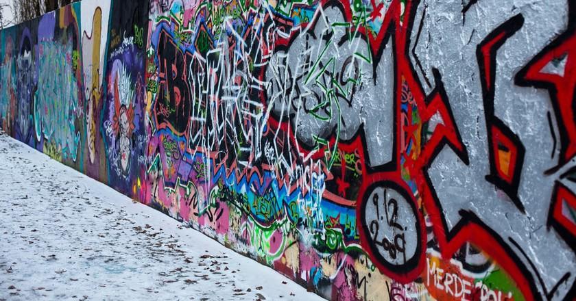 Berlin Wall in the Mauerpark   © Matt Biddulph / Flickr