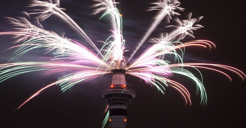 New Year's Fireworks, Auckland, New Zealand | © Louis Tan/Flickr