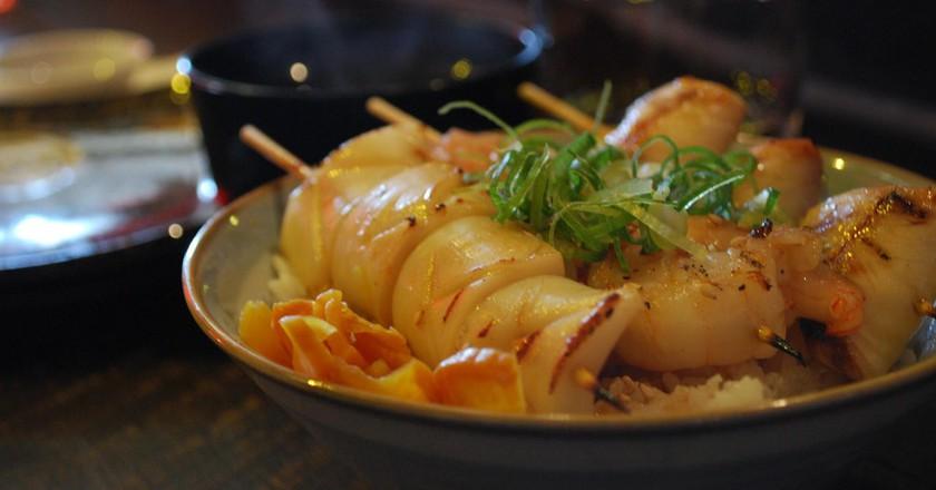 Seafood donburi | © Alpha/Flickr