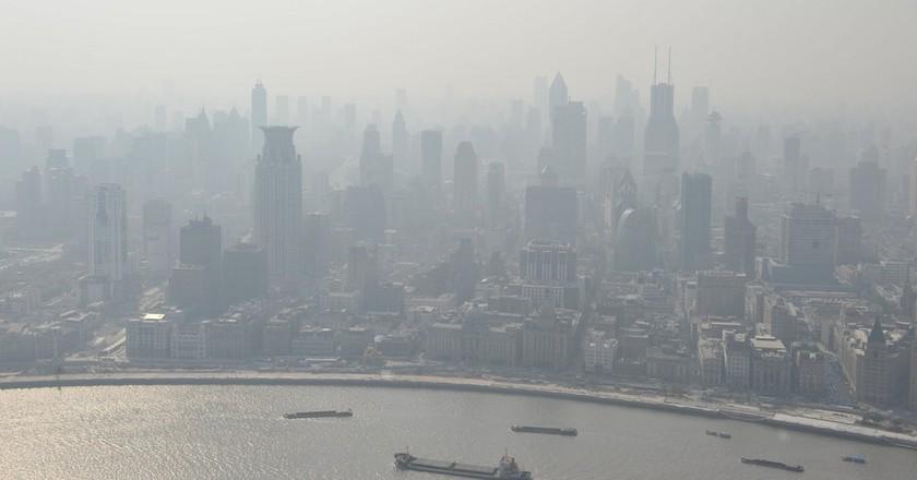 Shanghai's smog | © Gmoorenator/ Flickr