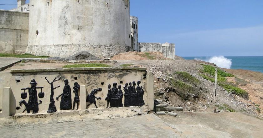 Outside view of Cape Coast Castle   © Adam Jones/ Flickr