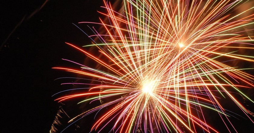 Fireworks, Popularized During the Song Dynasty   ©Chris/Flickr