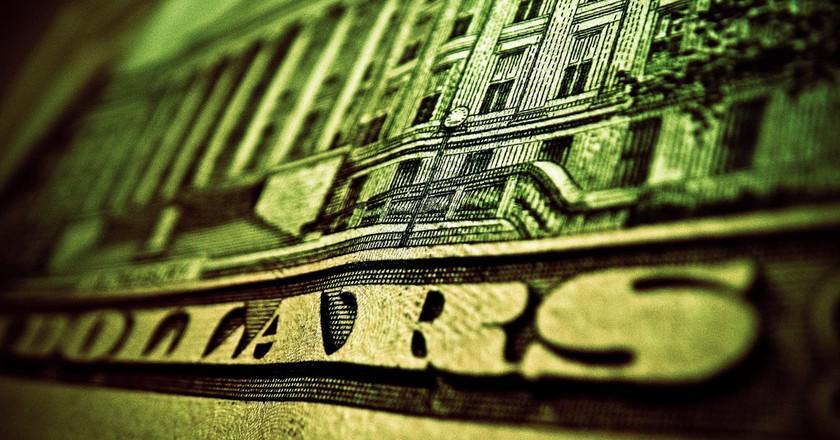 Twenty dollars bill   ©Kurtis Garbutt/Flickr